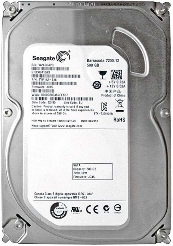 SEAGATE ST3500413AS 500GB BARRACUDA 7200.12 SATA3